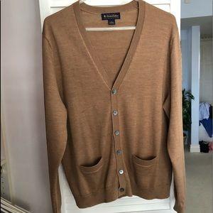 Brooks Brothers  Fine Italian Merino Wool cardigan